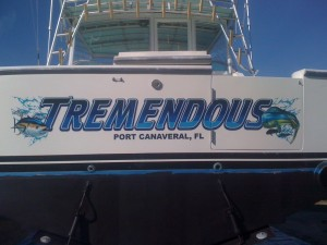 Transom Decal